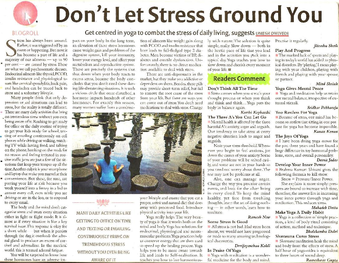 article in stress